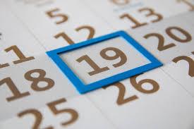 Terminkalender der Gaus-Narren 2018