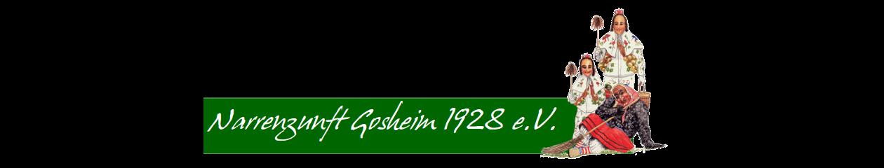 Narrenzunft Gosheim 1928 e.V.